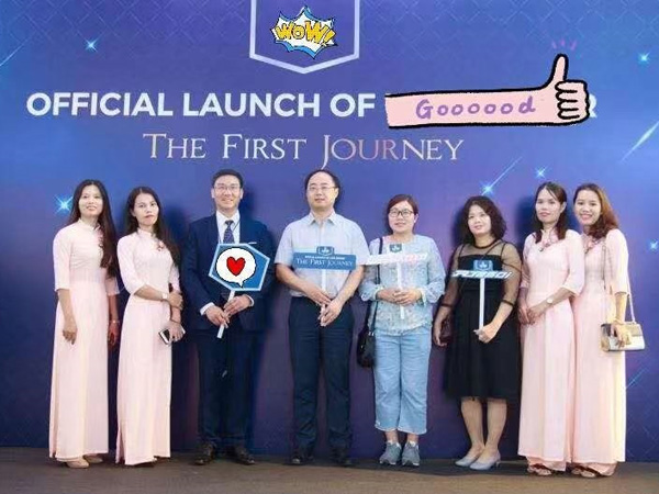 Vietnamese customer of Zhongneng held a grand new product launching conference