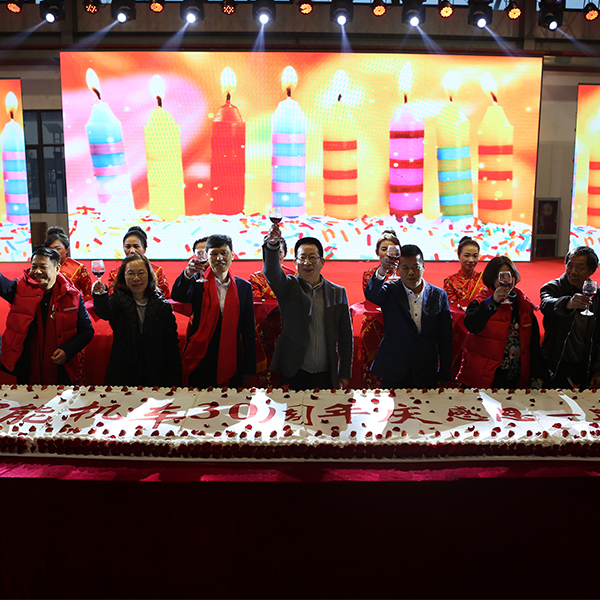 The 30th anniversary of Zhongneng Vehicle Group